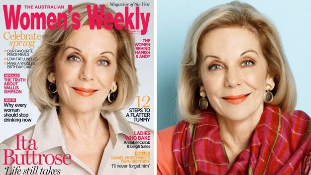Ita Buttrose: Covergirl at 69